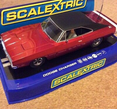Scalextric C3652 Dodge Charger R/T Candy Apple Red