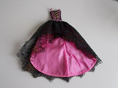 Monster High Clothes Pink And Black Dress Draculaura 13 Wishes