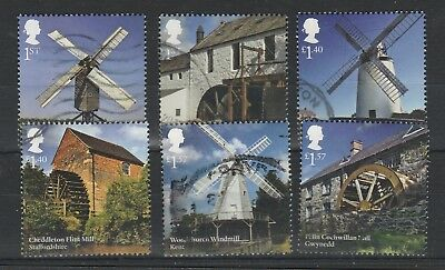 2017 Windmills And Watermills Used Set.