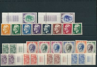 MONACO MNH MH Lot (25+Stamps) AG1626s
