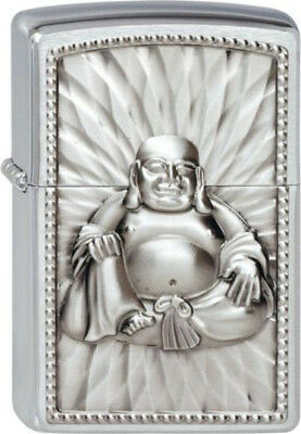 ZIPPO Holy Buddha with Pearls Emblem rare collectible lighter