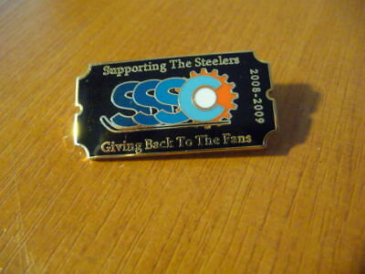 Sheffield Steelers Supporters club - Pin Badge 2008-9 - superb condition - WOW