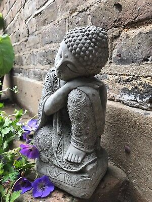 Beautifully Detailed Large Knee Buddhas Statue For The Home Or Garden. From Sius