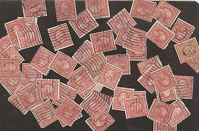 Stamps United States # 455, 2¢, lot of 54 used stamps.