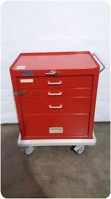 Unicarts Medical Emergency Cabinet Cart @ (155445)