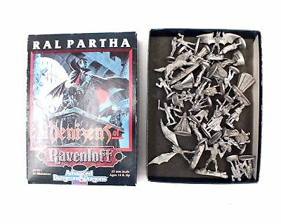 33x TSR Ral Partha/Ravenloft Dungeons & Dragons Assorted Unpainted Figures - S43