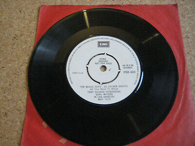 "BEACH BOYS 7""promo single Commercial for 20 golden greats"