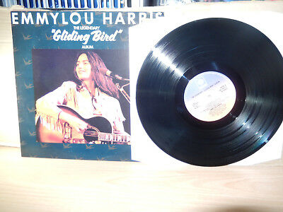 Emmylou Harris - The Legendary Gliding Bird Album (1969 PYE) LP