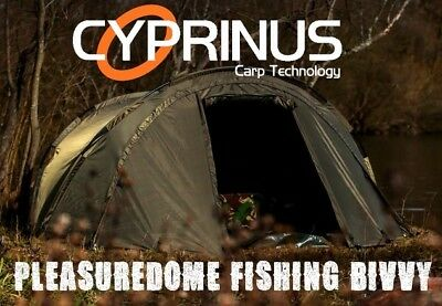 Cyprinus Carpstar Pleasure Dome 1 Man Carp Fishing Bivvy, Day Shelter, Tent