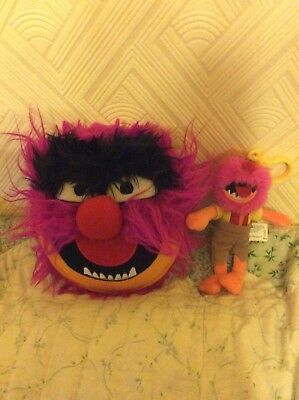 Animal Note Book And Soft Toy From The Muppets