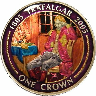 WCA Enamelled Crown 2005 Gibraltar