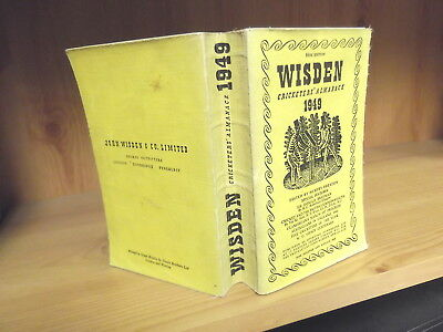 1949 John Wisden's Cricketers' Almanack - Softback