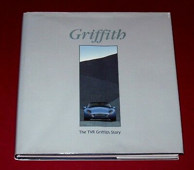 GRIFFITH THE TVR GRIFFITH STORY by Shackleton - GRIFFITH 200 & 400 - Hb with DJ