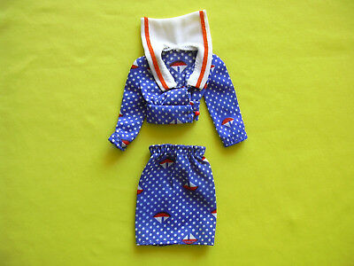 Barbie vintage abito best buy 3346 1973 nautical sailor perfetto
