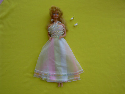 barbie vintage superstar era happy birthday 1980 philippines con outfit e anello
