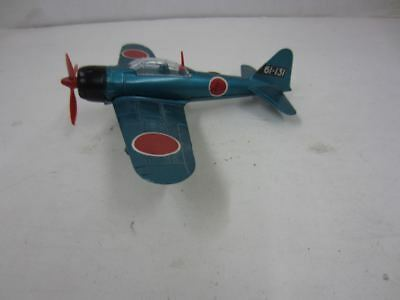 Dinky Toys No. 739 A6M5 Mitsubishi ZERO-SEN Die-Cast Airplane Made in England