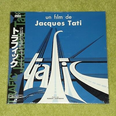 TRAFFIC [Jacques Tati] - RARE 1996 JAPAN LASERDISC + OBI (AMCL-0002) New/Sealed!