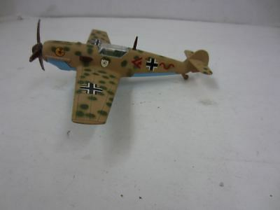 Vintage Dinky Toys 726 MESSERSCHMITT B.f 109E Die-Cast Airplane Made in England