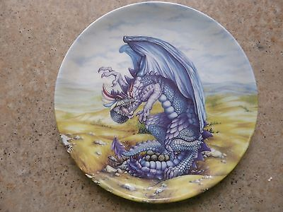 """Danbury Mint Dragons of the the Moor """"The Dragons of Enchantica by John Woodward"""
