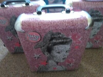 3 X Soap & Glory Tins Cases Vanity Cases Create Your Own Gift The Whole Glam Lot