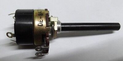 Vintage Alpha 470R  Linear switched potentiometer SPDT mains switch lin 470 ohm