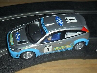 Scalextric rare version Ford Focus # 1 rally / touring car superb and fast