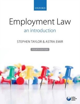 Employment Law: an introduction (Paperback), Taylor, Stephen, Emi. 9780198705390