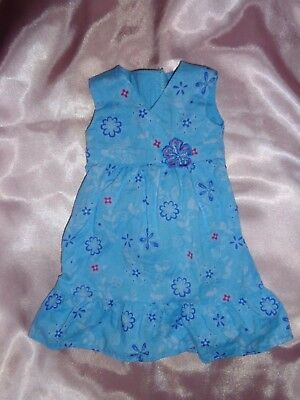 "American Girl 18/"" Doll KANANI PARTY Blue Velvet Dress Only Retired"