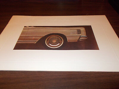 1965 Mercury Deluxe 20-page Sales Catalog / Low Price with Free Shipping !