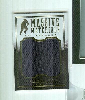 Pat Verbeek  2015-16 Anthology Massive Materials 212/199 Hartford Whalers
