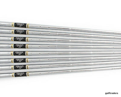 Fst Reax High Launch Steel 3-Pw Iron Shafts Regular Flex .370 Tip Sh3390