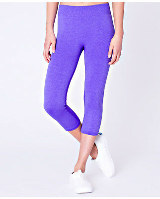 ivivva Girls purple Breathe Love Crop 10 free shipping great condition