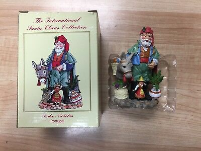 The International Santa Claus Collection Padre Nicholas Portugal w/ box