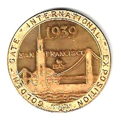 1939 San Francisco Exposition - China Clipper Medal - Advertisment