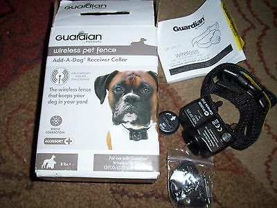 1 PetSafe Guardian Wireless Pet Fence Add-A-Dog Receiver Collar GIF00-15173