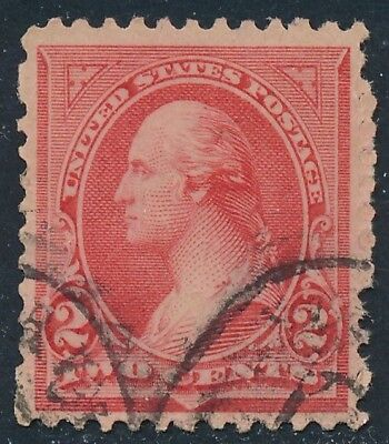 Dr Jim Stamps Us Scott 251 2C Washington Used No Reserve Free Shipping
