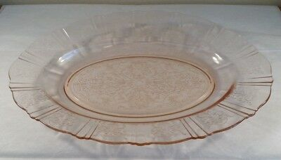 Vintage American Sweetheart Pink Oval Platter