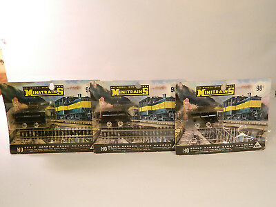 HO HOn3 RARE Lot of Three (3) AHM Minitrains NARROW GAUGE ORE CARS New in Packs