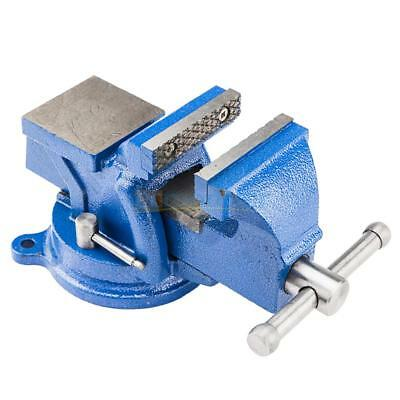 """4""""/5""""/6""""/8"""" Bench Vise with Anvil Swivel Locking Base Table top Clamp Heavy Duty"""