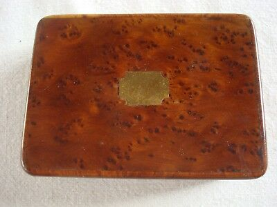 Antique Birds Eye Maple Jewelry Or Trinket Box