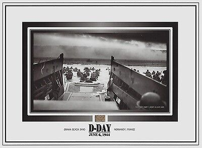 D-DAY, OMAHA BEACH at NORMANDY, France, SAND, World War II WWII Invasion, relic