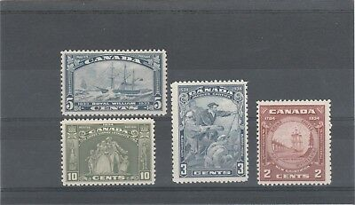 Canada 1933 Kgv  Sg331-Sg334 Selection Of Mint No Hinged Stamps