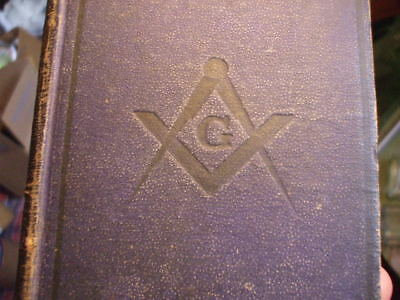 Antique Masonic Text Book Use Of Lodges Maine 1877 Drummond  First Ed ?