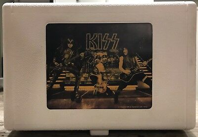 Vintage Kiss 1978 Tiger electronics record player. Complete. Needs Repair