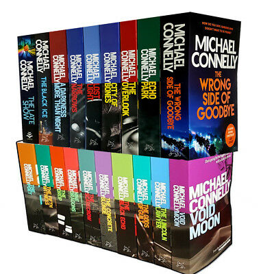 Michael Connelly Collection 19 books set lincoln lawyer gods of guilt black echo