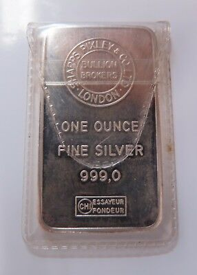 Pixley & Co ,  1 oz Silver Bullion Bar