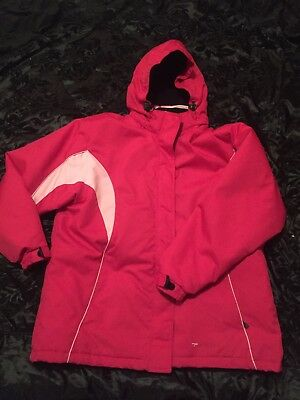 Pink Parallel Ski Jacket Snow Winter Size 20