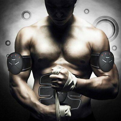 EMS Muscle Stimulator,Abdominal Toning Belt ,Muscle Toner Abs Trainer Gear HW