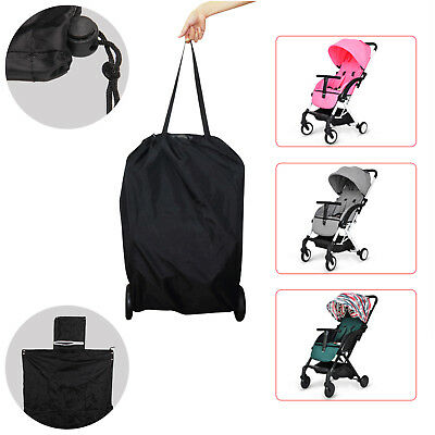UK Gate Check Pram Travel Bag Umbrella Stroller Pushchair Buggy Waterproof Cover