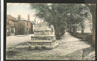 JFD Early Postcard, The Stone Cross, The Avenue, March, Cambridgeshire